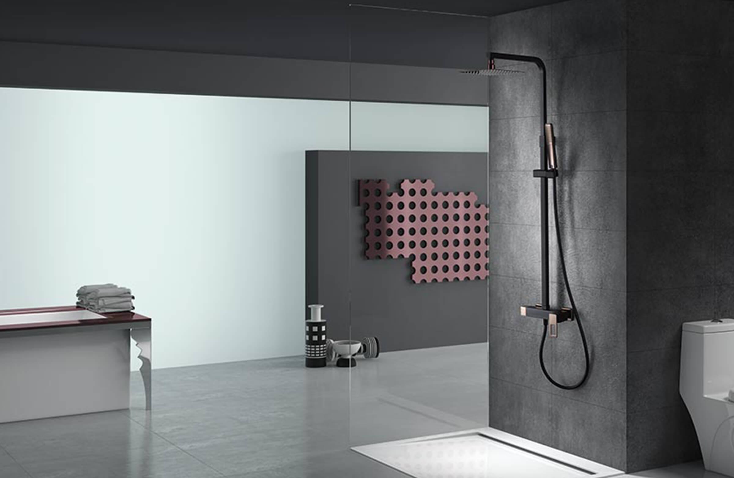 Suecia ducha2 negro