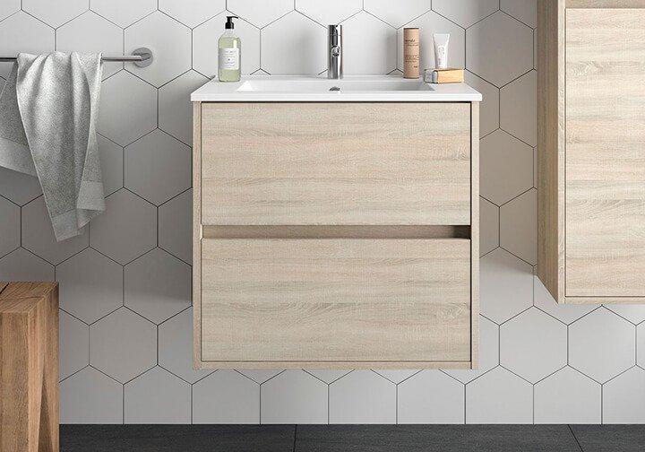 mueble madera claro