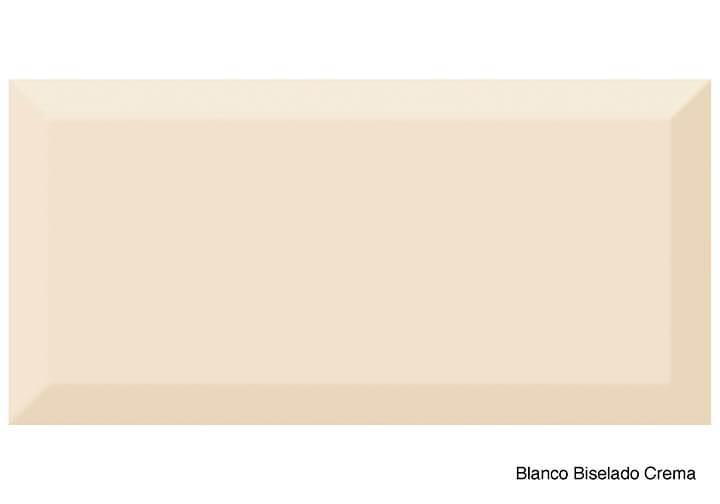 Blanco Biselado Crema